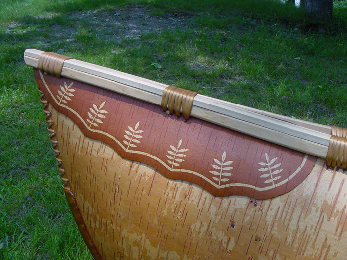 Deck flap detail