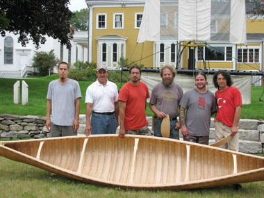 Penobscot Marine Museum Canoe Building Workshop