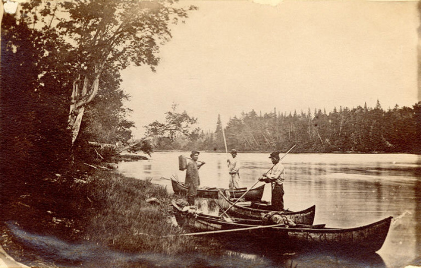 Wolastoqew Guides and Canoes along the Tobique River, New Brunswick